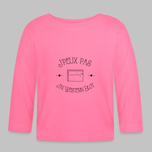 J peux pas j ai WB - Baby Long Sleeve T-Shirt