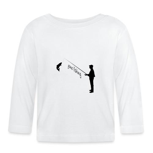 Angler gone-fishing - Baby Langarmshirt