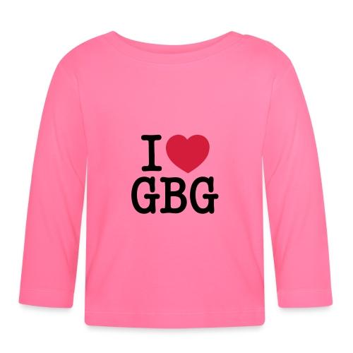 I love GBG - Långärmad T-shirt baby
