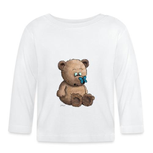 Teddybär - Baby Langarmshirt