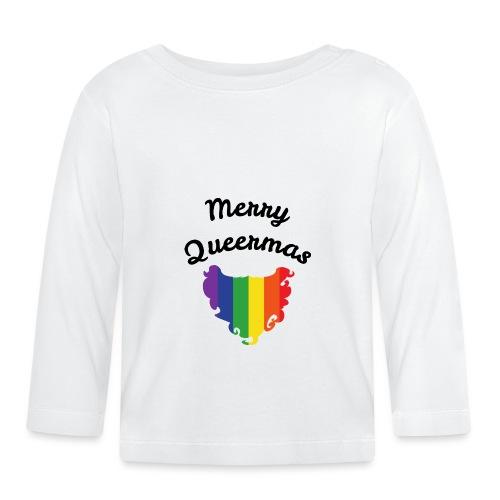 Merry Queermas | Weihnachten | LGBT | Geschenkidee - Baby Langarmshirt