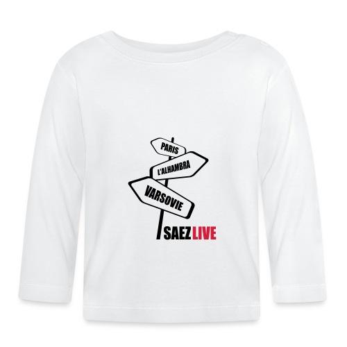 Varsovie (version dark, par parek) - T-shirt manches longues Bébé
