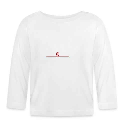 1312 logo white - Baby Langarmshirt