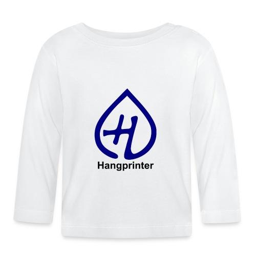 Hangprinter logo and text - Långärmad T-shirt baby