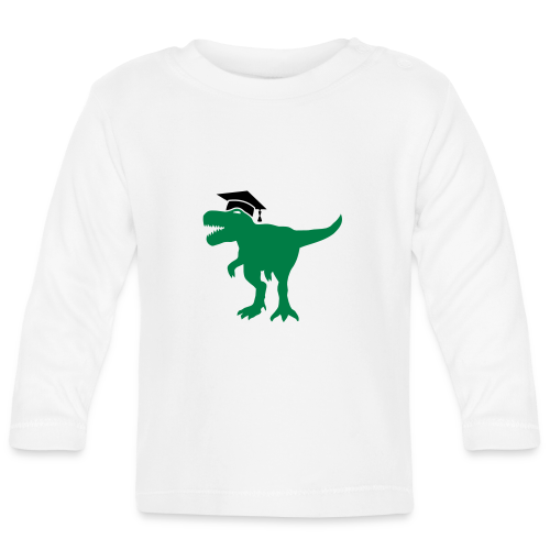 Dinosaurier Doktorhut Promotion Dissertation - Baby Langarmshirt