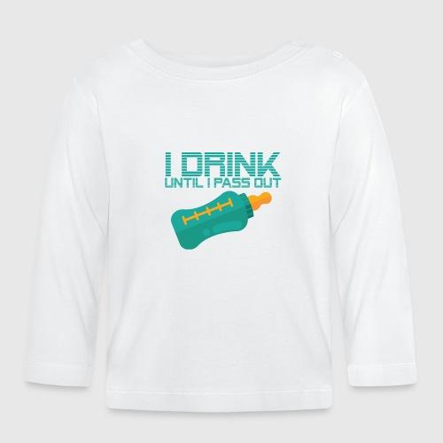 IDRINK png - Langærmet babyshirt