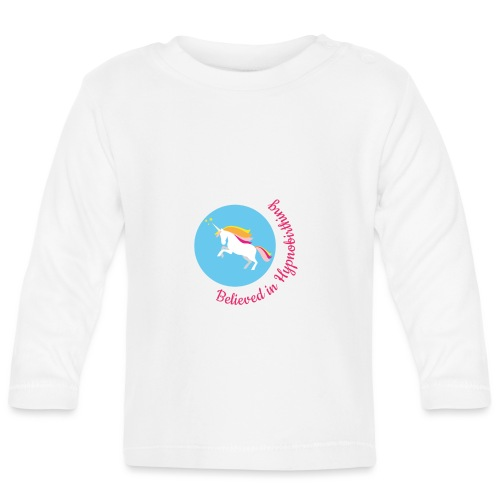 unicorn pink hypnobirth - Baby Long Sleeve T-Shirt