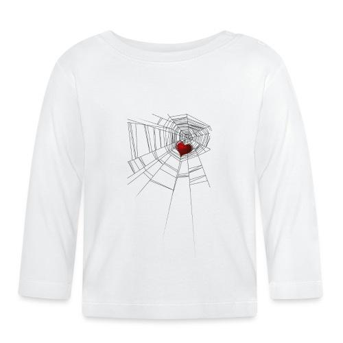 trappola_del_cuore - Maglietta a manica lunga per bambini
