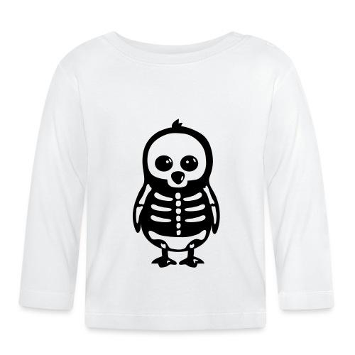 Pingouin Squelette - T-shirt manches longues Bébé