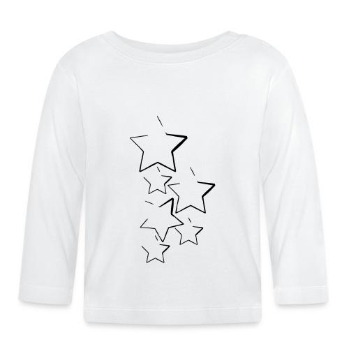 sterne_6 - Baby Langarmshirt
