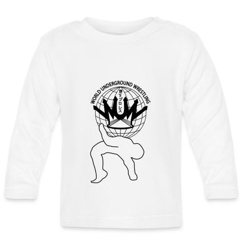 wuw suplex logo - Baby Langarmshirt