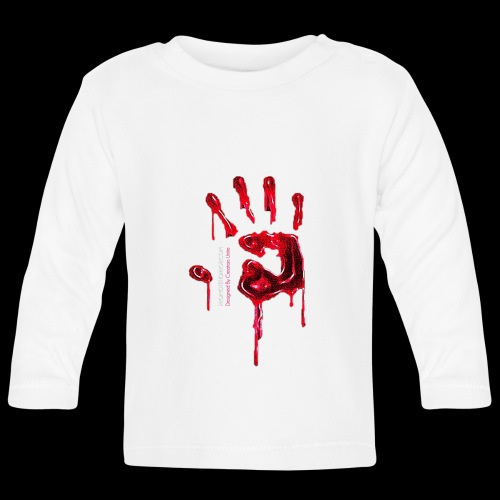 Promote Horror Blood-Soaked Hand - Baby Long Sleeve T-Shirt