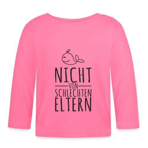 Eltern Baby lustiger Spruch Geschenk - Baby Langarmshirt