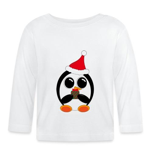 Pingouin - T-shirt manches longues Bébé