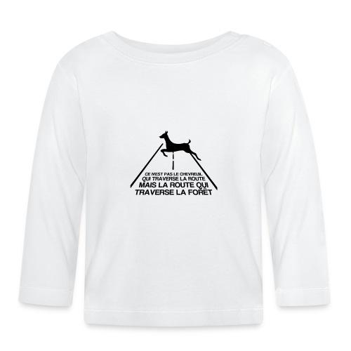 Chevreuil - T-shirt manches longues Bébé
