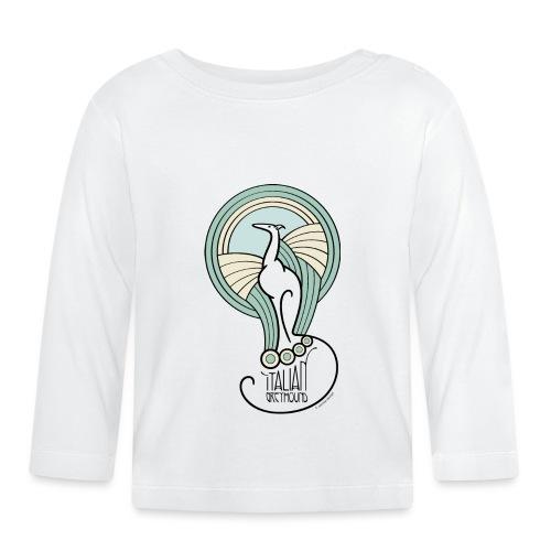 italian greyhound jugendstil 3 400ppi - T-shirt