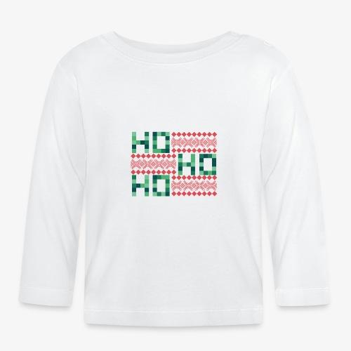 Ho, Ho, Ho / Ugly X-Mas 2 - Baby Langarmshirt