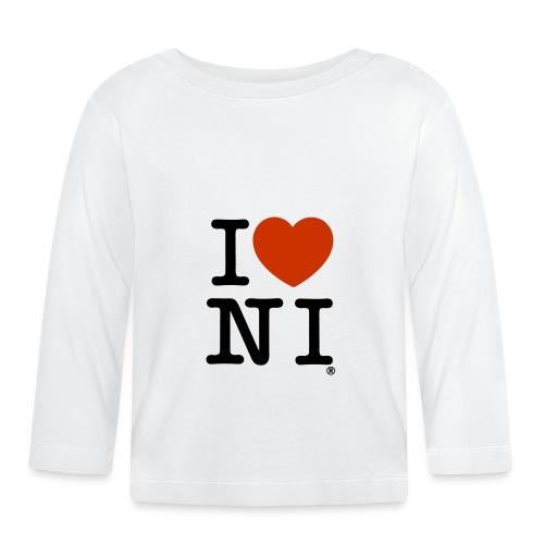 I heart NI - Baby Long Sleeve T-Shirt