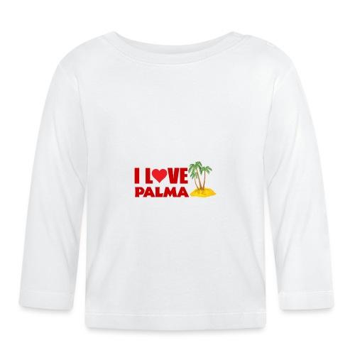 i love Palma - Palma de Mallorca - Geschenkidee - Baby Langarmshirt