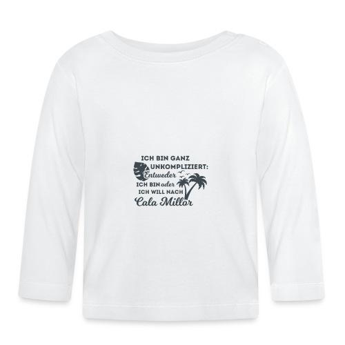 Cala Millor - Design by wirMallorca - Baby Langarmshirt