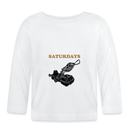 Saturdays Lawnmower - Baby Long Sleeve T-Shirt
