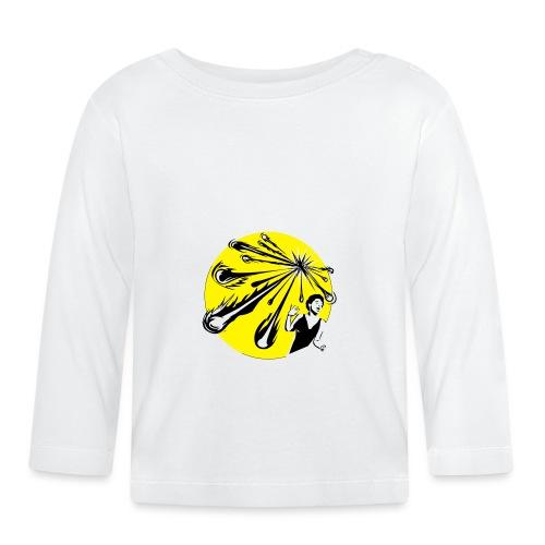 Yellow Meteor Shower Scream - Baby Long Sleeve T-Shirt