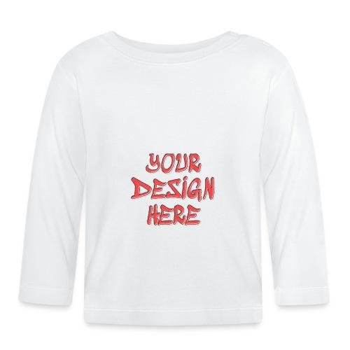textfx - Långärmad T-shirt baby