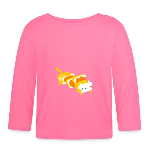 Cat sandwich Gatto sandwich - Maglietta a manica lunga per bambini