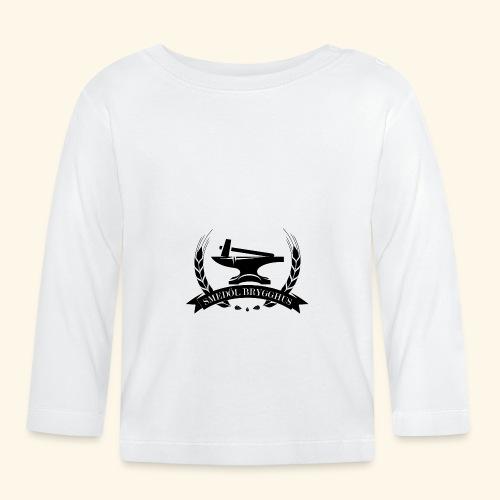 smedolvector svart - Långärmad T-shirt baby