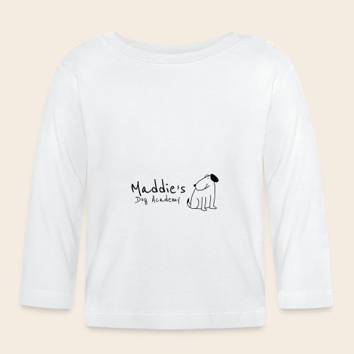 Académie des chiens de Maddie (noir) - T-shirt manches longues Bébé