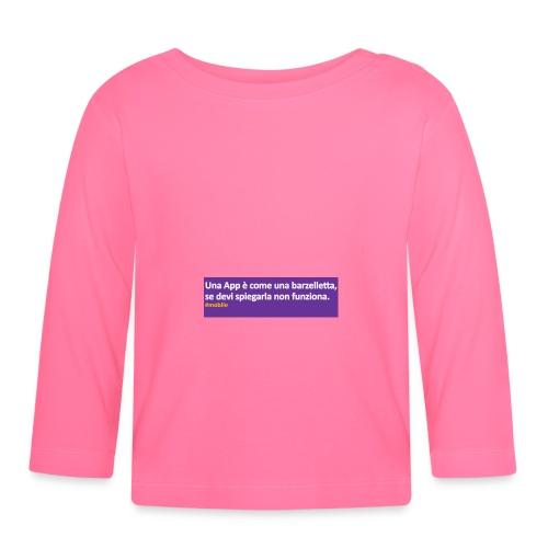barzelletta - Maglietta a manica lunga per bambini