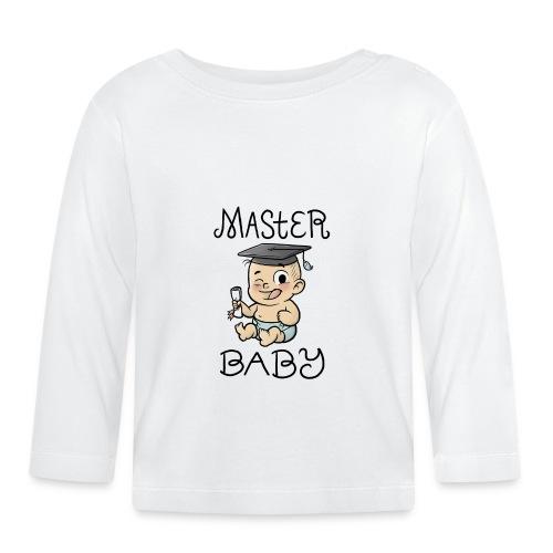 Master Baby - Baby Langarmshirt