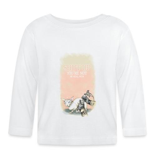 tätowierte Katze - Baby Langarmshirt