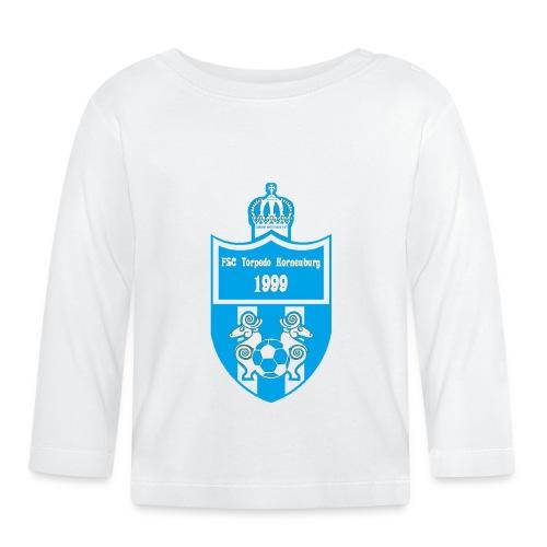 torpedo wappen blau trans png - Baby Langarmshirt