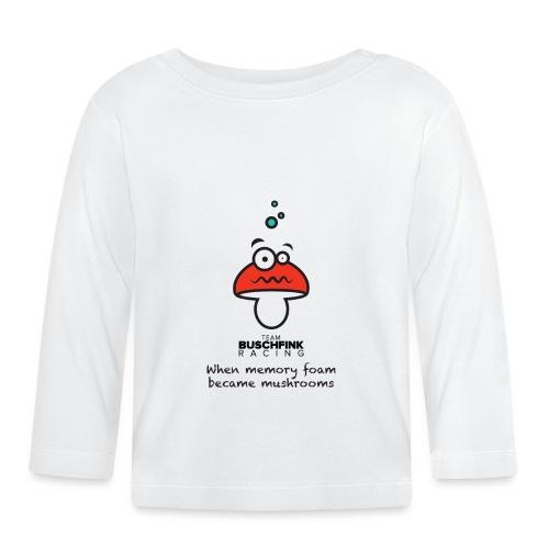 Memory Foam Logo - Baby Long Sleeve T-Shirt