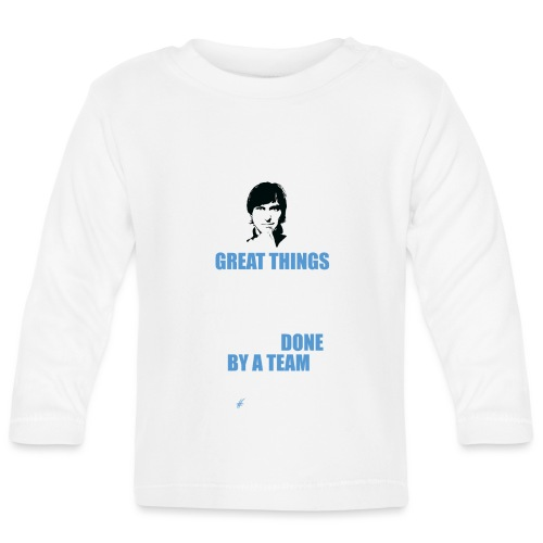 T-Shirt Steve Jobs - Great Things in Business.. - Maglietta a manica lunga per bambini