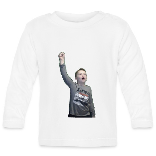 Kenti drar til verdensrommet - Langarmet baby-T-skjorte