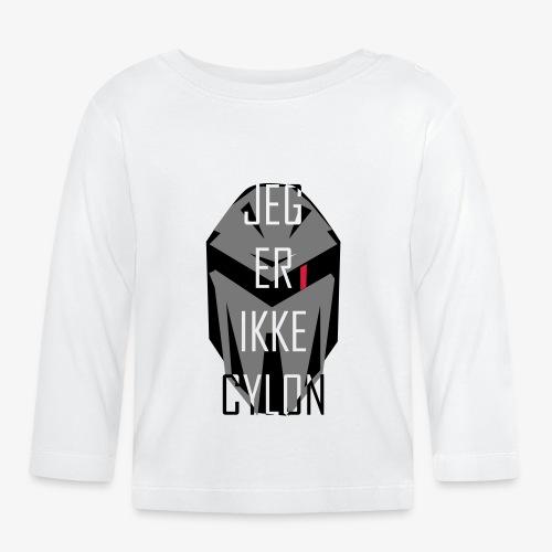 Jeg er ikke Cylon - Langarmet baby-T-skjorte