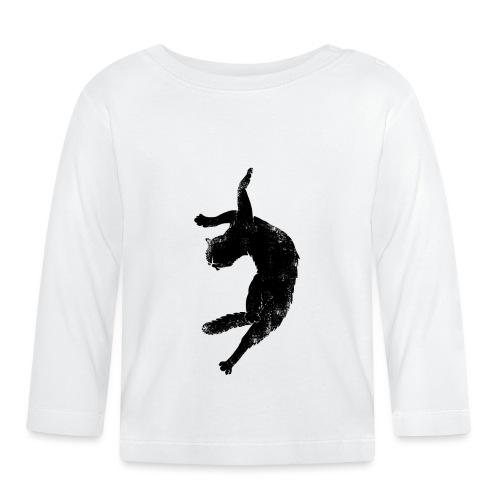 Flying cat - Långärmad T-shirt baby