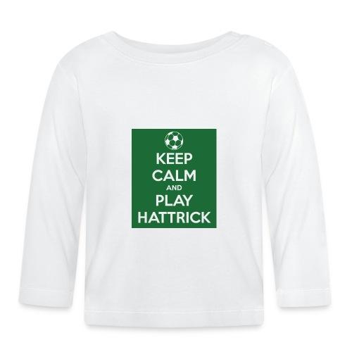 keep calm and play hattrick - Maglietta a manica lunga per bambini