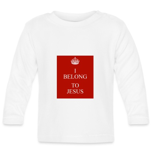 i belong to jesus - Baby Langarmshirt