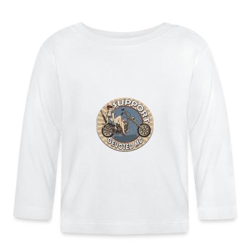 T-Shirt DEVOTEDMC PINUP CAPTAIN - Langarmet baby-T-skjorte
