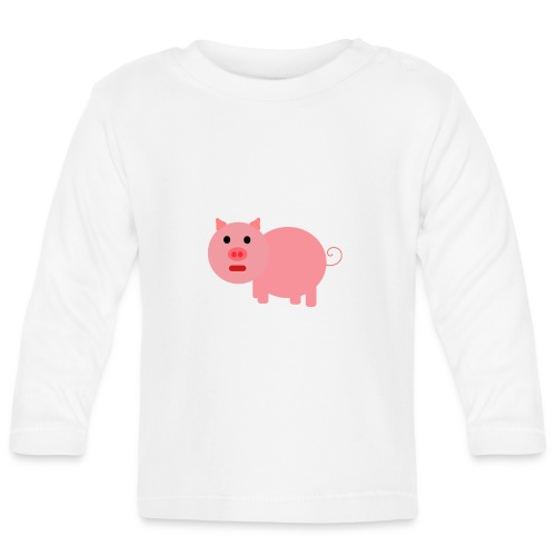 Pig Mad - Baby Long Sleeve T-Shirt