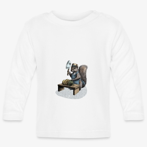 Squirrel nut cracker - Baby Long Sleeve T-Shirt