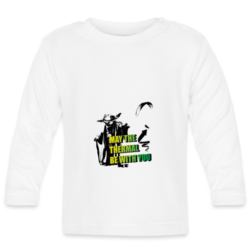 May the thermal be with you Gleitschirm Paraglider - Baby Langarmshirt