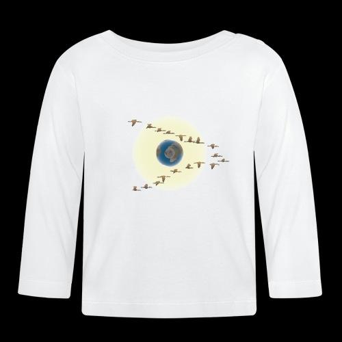 D01 The Silent Sun - Camiseta manga larga bebé