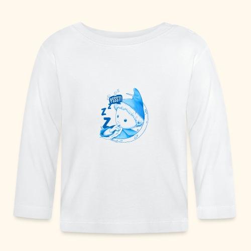 Unser Sandmännchen im Mond Pssst blau - Baby Langarmshirt