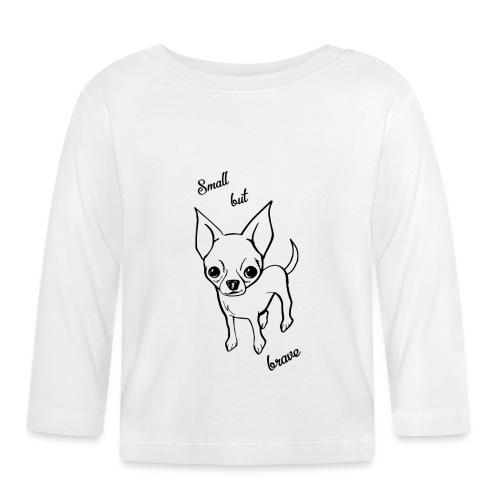 Chihuahua pies - Koszulka niemowlęca z długim rękawem