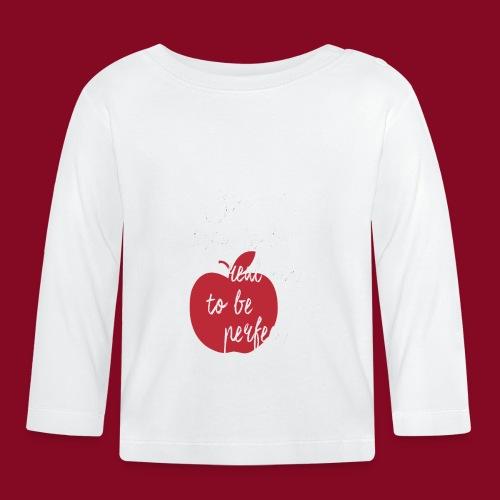 Apple sentence - Maglietta a manica lunga per bambini
