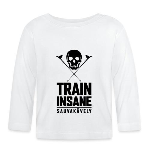 Sauvakävely - Skull t-shirt - Vauvan pitkähihainen paita